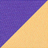 Gameday Reversible Can Caddie - Regal Purple & Sunglow Color Swatch Image