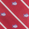 Gameday Skipjack Bow Tie - Crimson Color Swatch Image