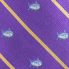 Gameday Skipjack Bow Tie - Regal Purple Color Swatch Image