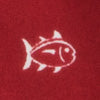 Gameday Skipjack Boxer - Burgandy Color Swatch Image