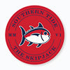 Gameday Skipjack Sticker - Red and Navy Color Swatch Image
