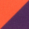 Gameday Skipjack Sunglass Straps - Endzone Orange and Regal Purple Color Swatch Image