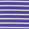 Gameday Stripe Polo - Clemson University - Regal Purple Color Swatch Image
