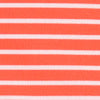 Virginia Tech Hokies Striped Polo Shirt - Endzone Orange Color Swatch Image