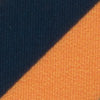 Gameday Sunglass Straps - Navy and Orange Color Swatch Image