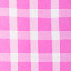 Gingham Intercoastal Hadley Performance Popover - Pink Cyclamen Color Swatch Image