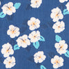 Hanatei Hibiscus Pocket Square - Sail Blue Color Swatch Image