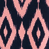 Jamie Ikat Performance Dress - Coral Pink Color Swatch Image