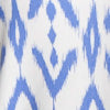 Jamie Ikat Performance Dress - Sail Blue Color Swatch Image