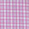 Linkside Plaid Intercoastal Performance Shirt - Mulberry Color Swatch Image
