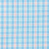 Linkside Plaid Intercoastal Performance Shirt - Ocean Channel Color Swatch Image