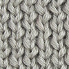 Mens Knit Beanie - Fossil Grey Color Swatch Image