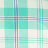 Oak Harbor Plaid Sport Shirt - Mint Color Swatch Image