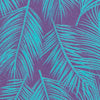 Portsmouth Palms Pocket Square - Purple Color Swatch Image