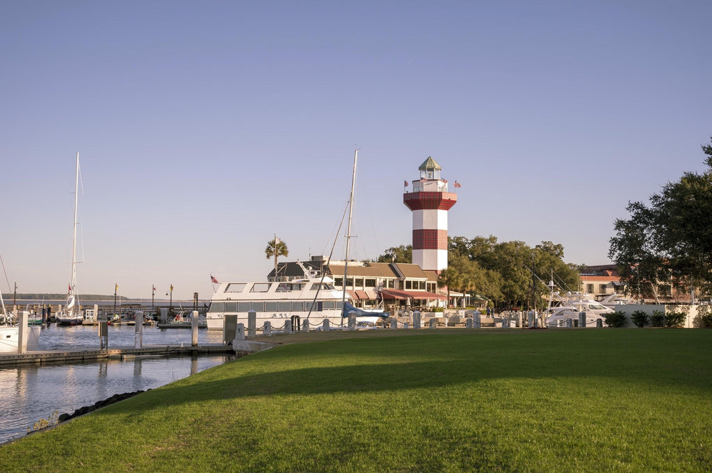 Harbour Town Lighthouse by the RBC Tournament golf course