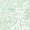Seapine Floral Quilted Sham - Lime Color Swatch Image