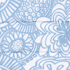 Seapine Floral Quilted Sham - Sky Blue Color Swatch Image