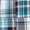 Short Sleeve Patchwork Dock Shirt - Shoreline Blue Color Swatch Image