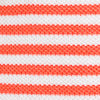 Skipjack Striped Polo Shirt - Sea Coral Color Swatch Image