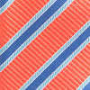 Society Stripe Tie - Dusted Coral Color Swatch Image