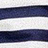 Soleil Striped Hoodie - Nautical Navy Color Swatch Image