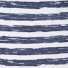Striped Knit Lounge Short - Nautical Navy Color Swatch Image