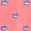 Summer Skipjack Tie - Sea Coral Color Swatch Image