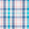 Surfsong Plaid Intercoastal Performance Shirt - Seven Seas Blue Color Swatch Image