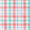 Surfsong Plaid Intercoastal Performance Shirt - Sunset Coral Color Swatch Image