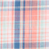 Surfwatch Plaid Sport Shirt - Shell Pink Color Swatch Image