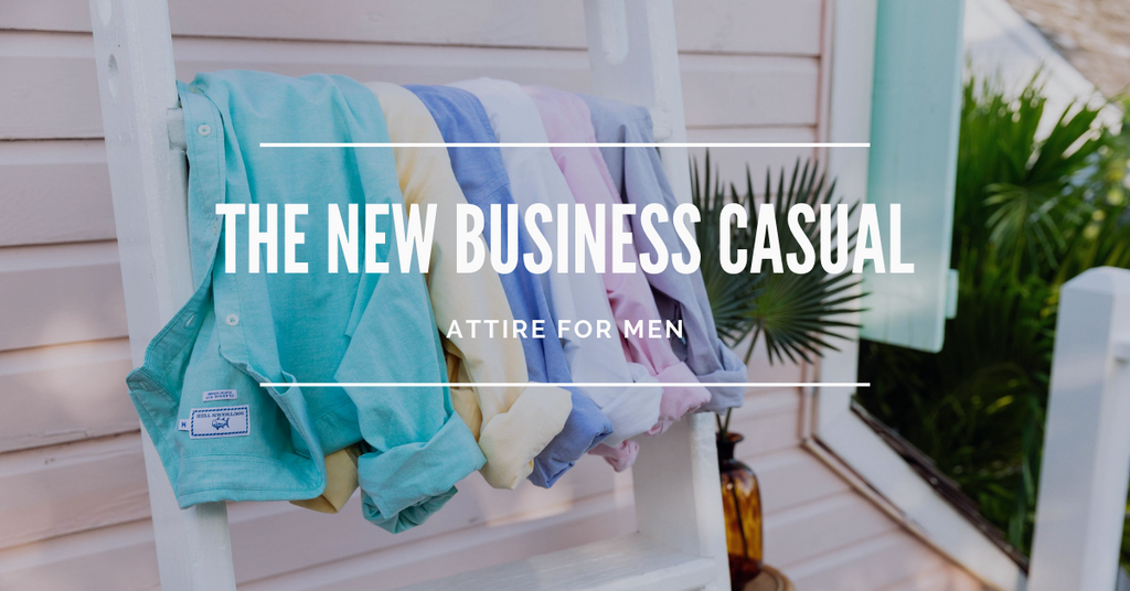 the new business casual attire for men header image