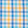 Coastal Passage Triple Gingham Sport Shirt - Golden Glow Color Swatch Image