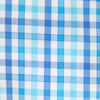 Coastal Passage Triple Gingham Sport Shirt - Hurricane Blue Color Swatch Image