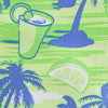 Tropic Like Its Hot Swim Trunk - Lime Color Swatch Image