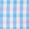 Two-Tone Gingham Lounge Short - Ocean Channel Color Swatch Image