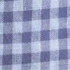 Wharf Heathered Gingham Button Down Shirt - Seven Seas Blue Color Swatch Image