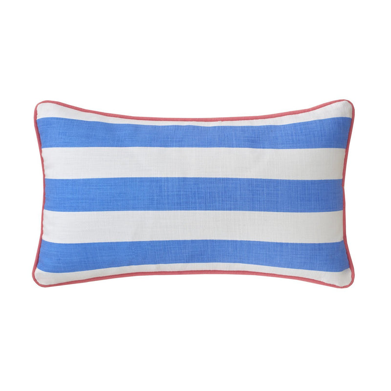 Coastal Ikat Stripe Decorative Pillow | Southern Tide