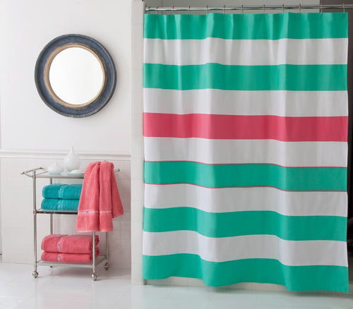 Cabana Stripe Shower Curtain | Southern Tide