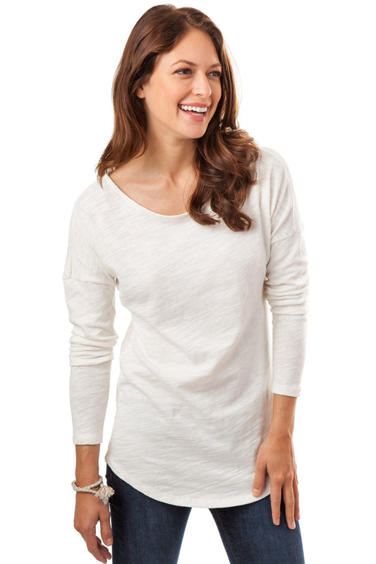 Lindsey Long Sleeve Tee | Southern Tide