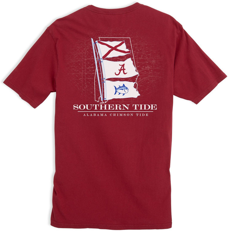Game Day State Flag T-shirt - University of Alabama | Southern Tide
