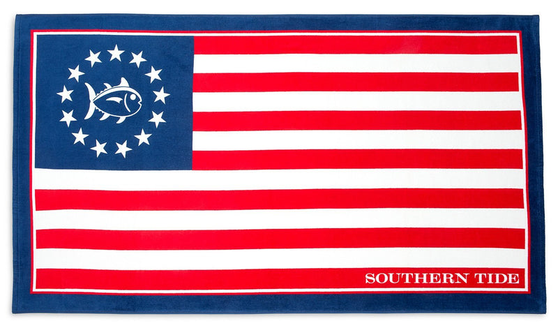 Grand Ole Flag Beach Towel