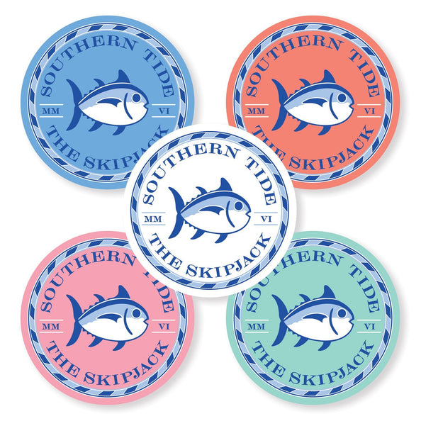 5-pack Skipjack Seal Stickers