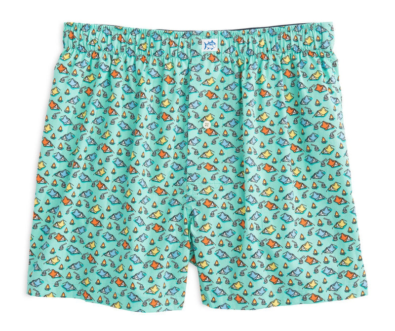 Pitch a Tent Boxer Short | Southern Tide