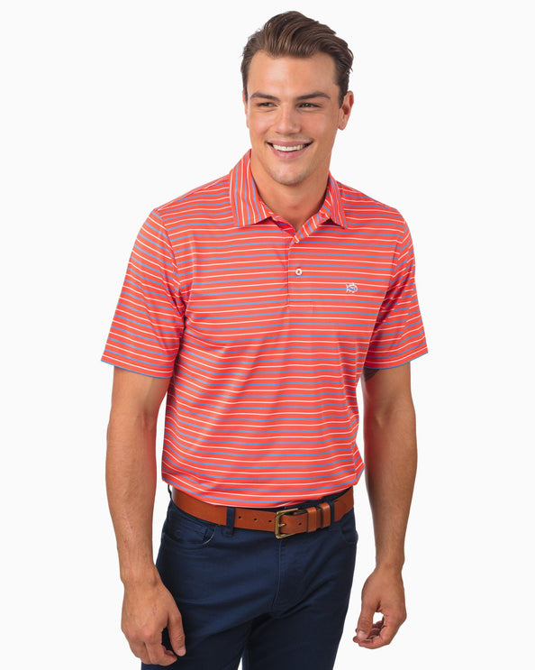 Image of Driver Tico Stripe Performance Polo