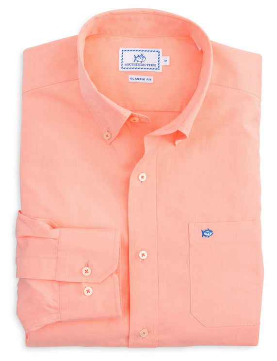 Image of Brackish Point Solid Sport Shirt