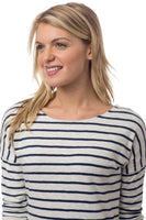 Lindsey Long Sleeve Striped Tee | Southern Tide