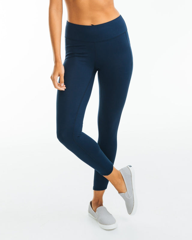 Solid Performance Legging | Southern Tide