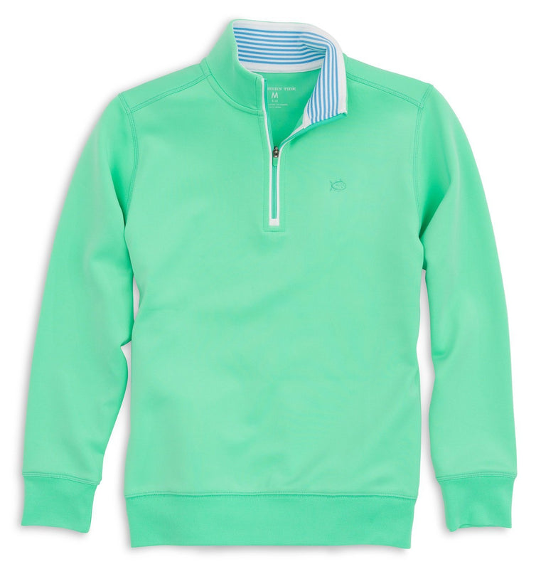Boys North Sound Performance 1/4 Zip Pullover | Southern Tide