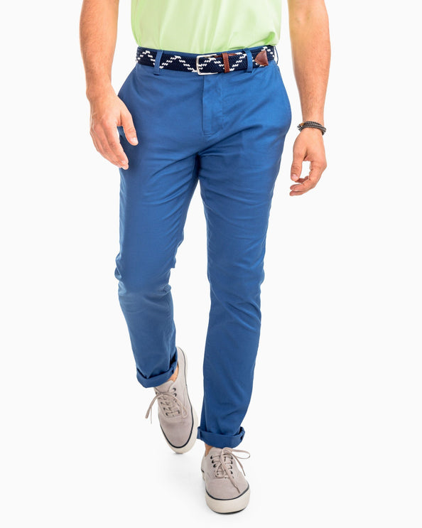 Channel Marker Chino Pant - Dutch Blue