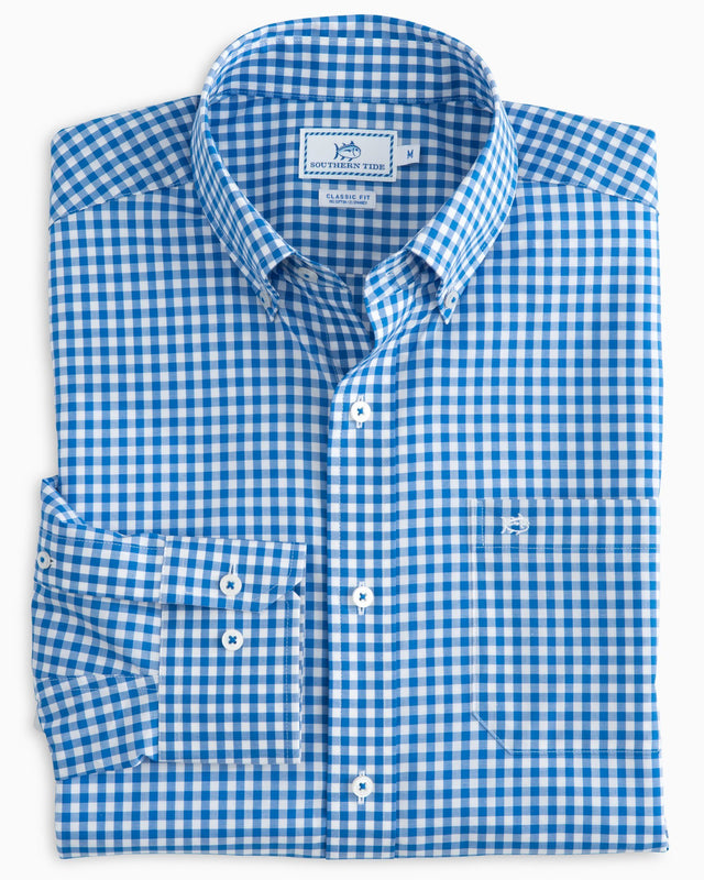 Classic Gingham Button Down Shirt | Southern Tide